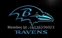 LD064-TM Baltimore Ravens Super Bowl Neon Light Signs Advertising