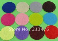 The 500pcs Felt 30mm Circle Appliques -12 Color Free Shipping-Pick color