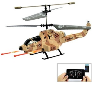 15% Off 3 Channel 25 CM Mini Remote Control Helicopter iPad/iPod/iPhone Control Rc plane