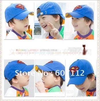 C1291701 Free shipping wholesale cotton baby baseball cap/children boy snapback hats