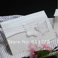 Free customized printing,  wedding invitation card,85008, Wedding favors , free shipping