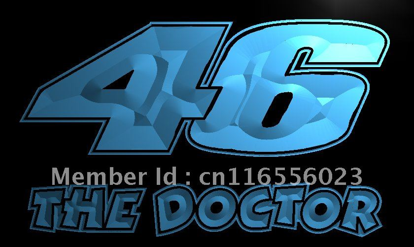 LD542-TM-font-b-Valentino-b-font-Rossi-46-The-Doctor-Neon-Light-Sign    Valentino Rossi The Doctor Font
