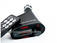 NEW Wireless FM Transmitter car MP3 Player With USB SD MMC Slot high quality Free shipping
