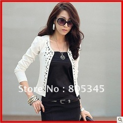 ' free shipping ' Autumn New Spring and Autumn new coat ladies' cardigan autumn and winter long-sleeved jacket(China (Mainland))