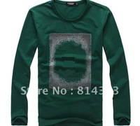 Free shipping Men's Long-sleeved T-shirt