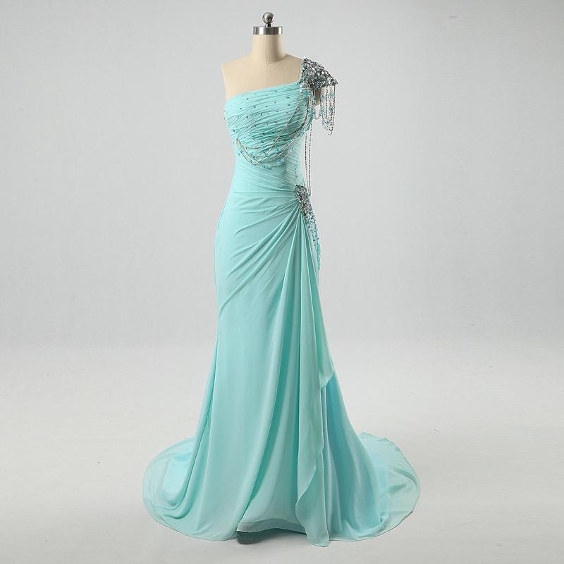 Blue Formal Dress For A Wedding
