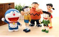 Best selling!! Doraemon action figures toys Free shipping, 5PCS/LOT