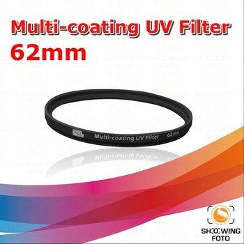 Pixel dslr camera accessory 62mm MC UV filter for Canon/Nikon/Sony/Olympus