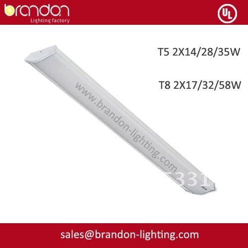 T8 2x58W Slimline design fluorescen lighting fixtures(China (Mainland))