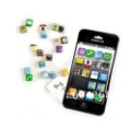 18 pcs/set iPhone 4 app fridge magnet / home decoration, novelty items and unique gift wholesale, free shipping 10Set/Lot