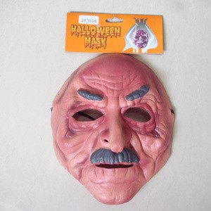 Free shipping masquerade party mask/halloween props/christmas decorations/event & party supplies/ornament/face mask/old man mask(China (Mainland))