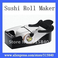 1pc Creative Sushi Roller Maker 3 Step Easy Sushi Maker Roller Kitchenware -- MTV83 Free Shipping Wholesale & Retail