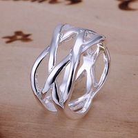 Free shipping 925 sterling silver fashion ring.fashion jewelry.925 jewelry.silver ring.wholesale price .hot selling