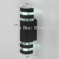 whole sale prices  double headed aluminum outdoor wall lamp waterproof lighting garden light balcony lamp