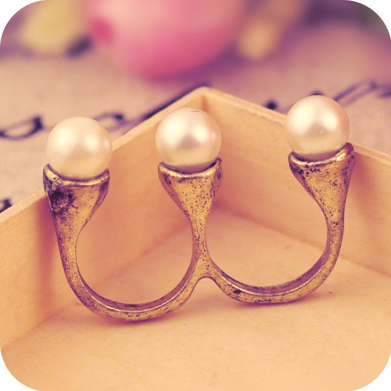 cheap two finger rings