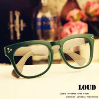 A9 non-mainstream ultralarge myopia frame glasses frame vintage eye frame plain mirror