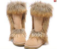 sell sheep skin ,new fashion ,latest design men,women winter boots.Fox fur snow boots.free shipping.