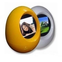 "10pcs/lot Tumbler Egg LCD Frame 1.5"" mini digital photo Frame DHL free shipping(China (Mainland))"