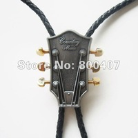 Wholesale Retail Bolo Tie (Western Country Music Guitar Bolo Tie) Factory Direct Free Shipping