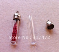 Wholesale Round Bottom  Vial Pendant Jewelry Pendants Finding