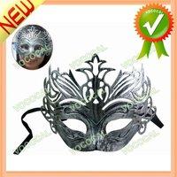 Retro Crown Carnival Halloween Venetian Masquerade Ball Party Mask Silver, Free Shipping, Dropshipping