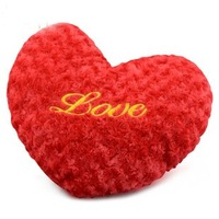 Freeshipping LOVE heart hold pillow LOVE cushion for leaning on wedding gift birthday gift plush toys