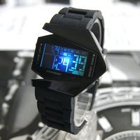 2011 fashion multifunctional led colorful luminous electronic watch sports watch male student watch