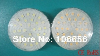Free shipping 10pcs/lot 110v 220v 230v SMD5050 30led 21led 5w 7.2w high brightness  gx53 led lamp