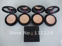 free shipping 80pcs/lot profession pressed powder fine and smooth compact powder 4 colors optional