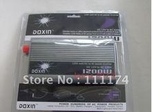 NEW 24v DC to AC 220v AC 1200W Mobile Car Power Inverter USB + Free shipping(China (Mainland))