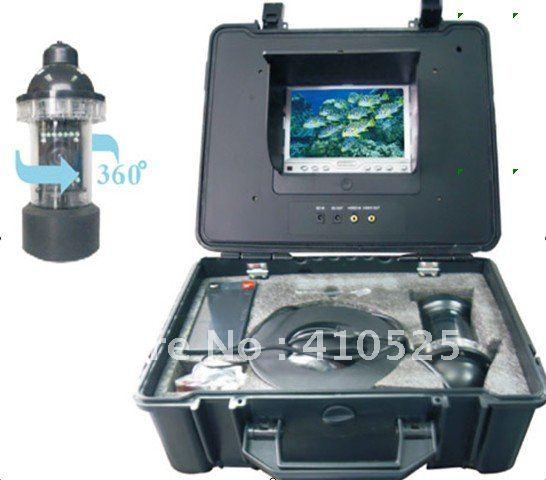 Onderwater vissen camera/kleur vissen monitor/fishfinder, 7