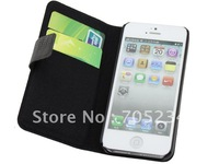 Wholesale genuine leather case for iPhone5 , for iPhone 5 cover case , high quality cheap price free shipping