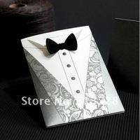 Free customized printing,  wedding invitation card,13002, Wedding gifts , free shipping