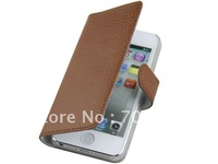 New arrival full color genuine leather case for iPhone 5 , for iPhone5 cover case , high quality cheap price free shipping