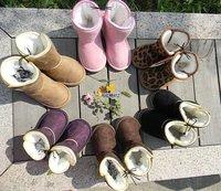 Wholesale 5 pairs/lot Children's Snow Boots Kids Shoes LJ Unisex Boots Warm Winter Hardwearing Shoes 6 colors