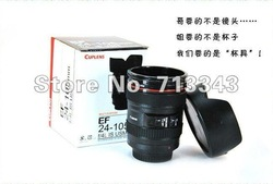 Camera Lens Mug Coffe Cup Travel Camera Lens 24-105MM f/4 Coffee Mug Cup Promotional Gfit Free shipping(China (Mainland))