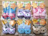 Amazing+HOT 20Pairs/lot Japanese issen Combed Cotton Anti-skidding Cartoon Children's Stockings,Kid's Socks,Floor Socks