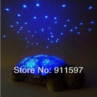 Free shipping Tortoise small night light color hypnotic tortoise projector hypnosis musical