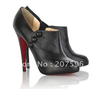 Nnw arrived! Side zipper ultra-high with ankle boots short boots 12cm women's high heel boots