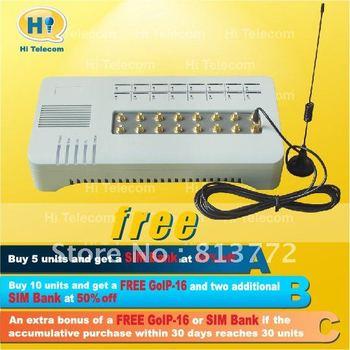 HoT Sale! 16 SIM channel VoIP GSM gateway-GOIP 16