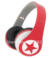 free shipping headphones with high quality flat cable WV-8810