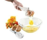 Free shipping 48 sets/lot  for Cracker Fresh/Boile EZ Egg Cracker Separator As Seen On TV