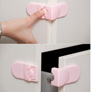 Free Shipping Baby Drawer Safety Lock For Door Cabinet Refrigerator Window,Baby safe products.baby care