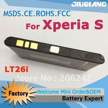 Hot sale battery BA800 For Sony Ericsson mobile phone Arc HD LT26 LT26i Nozomi Xperia S