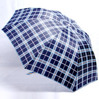 339 umbrella ultra-light umbrellas commercial folding plaid umbrella ,Free shipping