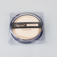 3pcs/lot Professional 5 Colors Pressed Powder With Podwer Puff 8005