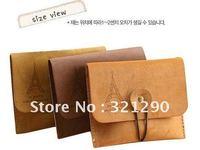 Freeshipping/Romantic Korean Style Retro Tower Velvet Coin Purse/Coin Bag/Simple Handbag The cheapest, fashion