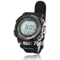 Free shipping+New Solar Power Energy 100M Waterproof Digtal Sports Watch
