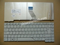 New Keyboard for Acer Aspire 4520 4710 4720 4920 5220 5310 5520 5710 5720 5920 5930 6920 Grey white keyboard UK layout