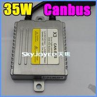 FREE SHIPPING 35w canbus HID BALLAST WARNING cancellerHID Ballasts 35W X3 ERROR FREE HID XENON BALLAST 6 PCS PER LOT ID140120
